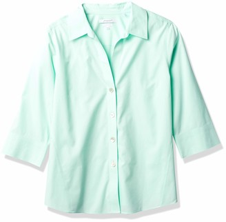 Foxcroft Women's Plus-Size Non-Iron Essential Paige Shirt