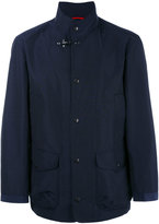 Fay high tech over coat - men - Cotton/Polyamide - XL