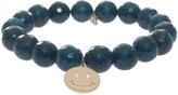 Sydney Evan Smiley Charm Bracelet