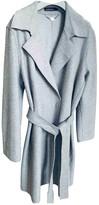 Marc Cain Grey Wool Coat for Women