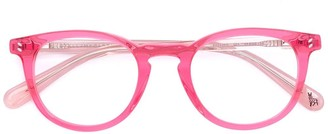 Stella McCartney Two-Tone Round Eyeglasses