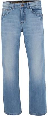 Wrangler Boys 4-20 Slim Straight Jean in Regular & Husky