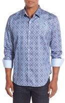 Robert Graham 'A Perfect Day' Classic Fit Print Sport Shirt (Big)