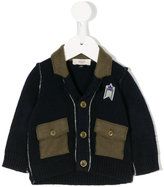 Armani Junior two-tone jacket