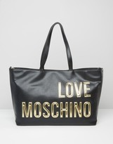 Love Moschino Shopper Bag With Large Logo