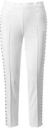 Akris Punto Franca Studded Ankle Pants