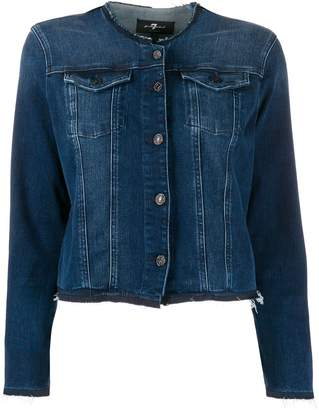 7 For All Mankind Illusion Integrity denim jacket