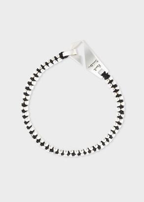 Men's Silver 'Zip' Bracelet