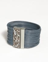 dressbarn Stacked Cord Bracelet