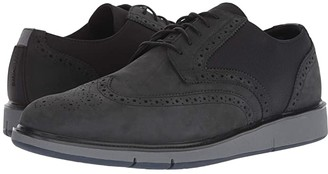 Swims Motion Wing Tip Oxford (Black/Grey/Navy) Men's Shoes
