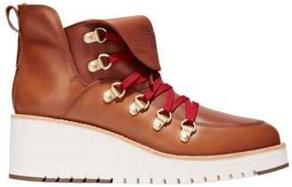 Cole Haan ZeroGrand Wedge Leather Hiking Boots