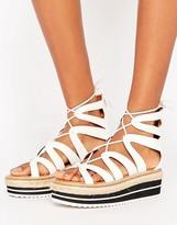 Sixty Seven Sixtyseven Tieup Flatform Sandal