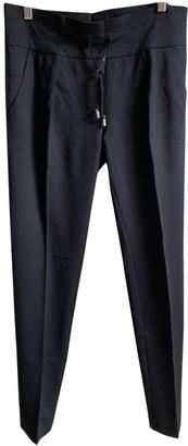 Marella Black Trousers for Women