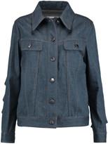 MM6 MAISON MARGIELA Ruffled denim jacket