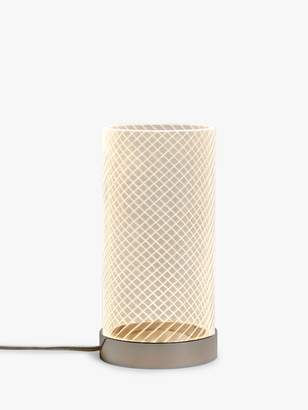 John Lewis & Partners Ringo LED Etched Table Lamp, Clear
