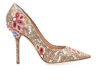 Dolce & Gabbana Belucci beaded point toe pumps