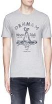 Denham Jeans 'Marine & Walk' print T-shirt