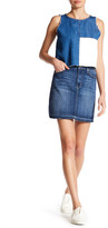 Just USA High Rise Denim Skirt