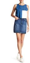 Just USA High Rise Denim Skirt