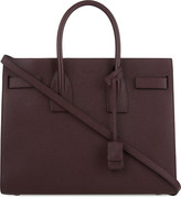 Saint Laurent Sac de Jour small grained leather tote