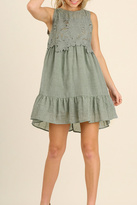 Umgee USA Birdy Lace Dress