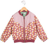 Stella McCartney Girls' Floral Bomber Jacket