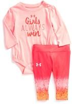 Under Armour Infant Girl's Girls Always Win Bodysuit & Pants Set