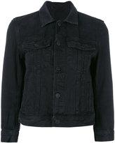 Helmut Lang cropped denim jacket - women - Cotton/Polyester - M