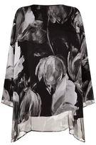 eskandar Floral Tunic Top