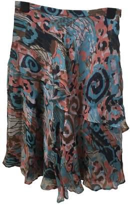 Brora Multicolour Silk Skirt for Women