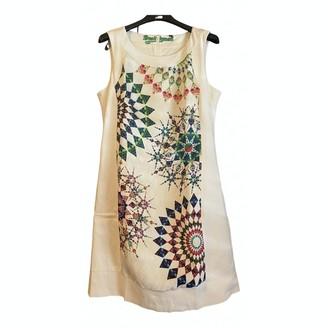 Desigual White Cotton Dress for Women
