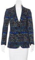 Etro Wool Patterned Blazer