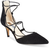 INC International Concepts Daree Lace-Up Pumps, Only at Macy's