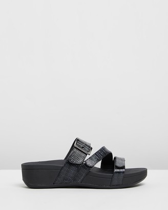Vionic Women's Black Wedges - Rio Platform Sandals - Size One Size, 5 at The Iconic