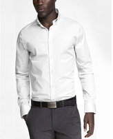 Express slim fit button down 1MX shirt