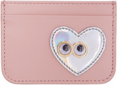 Sophie Hulme Pink Heart and Eyes Rosebery Card Holder