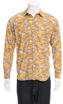 Tim Coppens Printed Button-Up Shirt