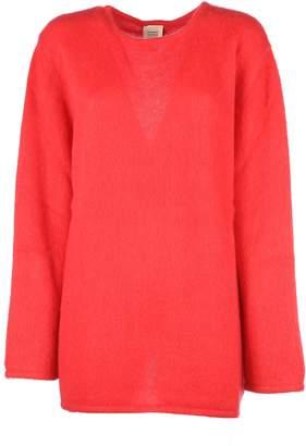 Vetements Open Back Knit Sweater