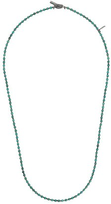 M. Cohen Thin Beaded Necklace