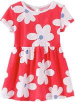 Joe Fresh Baby Girls' Floral Dress, Red (Size 12-18)