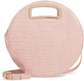Mali & Lili Danni Vegan Leather Round Top Handle Bag