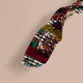 Burberry The Classic Cashmere Scarf in Check with Patchwork Print