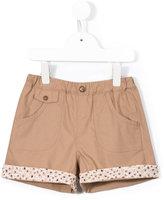 Familiar floral detail shorts - kids - Cotton - 2 yrs