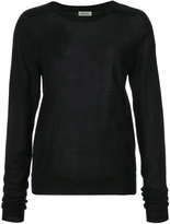 Toteme cashmere round neck top