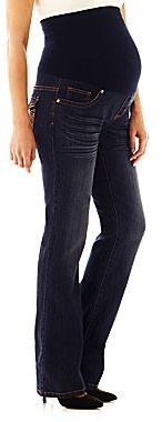 Tala Jeans Tala Maternity Copper Flap-Pocket Bootcut Jeans
