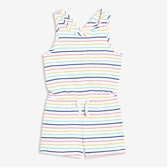 Joe Fresh Toddler Girls' Romper, White (Size 3)