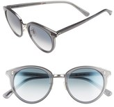 Oliver Peoples Women's 'Spelman' 50Mm Sunglasses - Silver