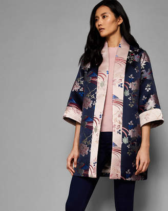 Ted Baker DIAMONA Chinoiserie Jacquard kimono