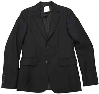 Sandro Fall Winter 2019 Navy Cotton Jackets