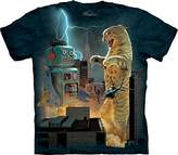 The Mountain Men's Catzilla Vs Robot T-Shirt
